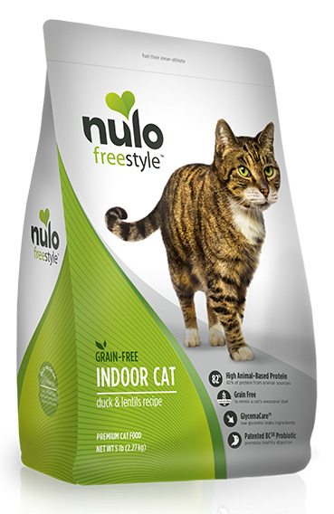 Nulo FreeStyle Indoor Cat Grain Free Duck & Lentils Cat Food