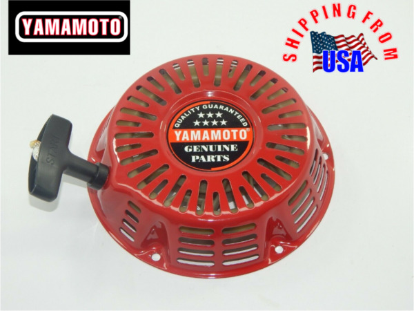 Yamamoto Recoil starter assembly for GX240 GX270 engines.  Steel ratchet.