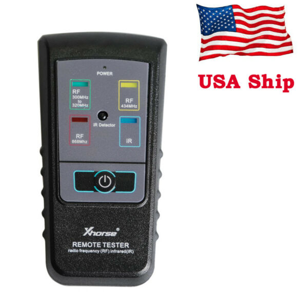 USA Ship Xhorse Remote Tester Radio Frequency Infrared with 300Mhz-320hz434Mhz