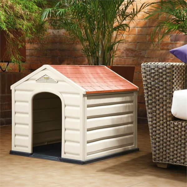 Rimax Taupe Dog House for Small Breeds $51.98