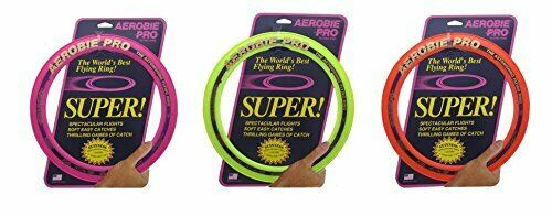 Pro Ring w Soft Rubber Edge for Easy Catching - Frisbee Disc 13