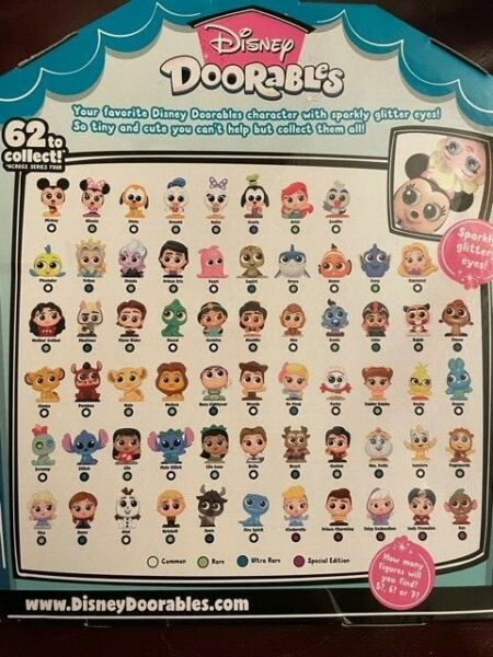 Disney Doorables Series 1 2 3 4 5 Reduced Prices amp; Flat $3.50 Ship VHTF Figures $3.99