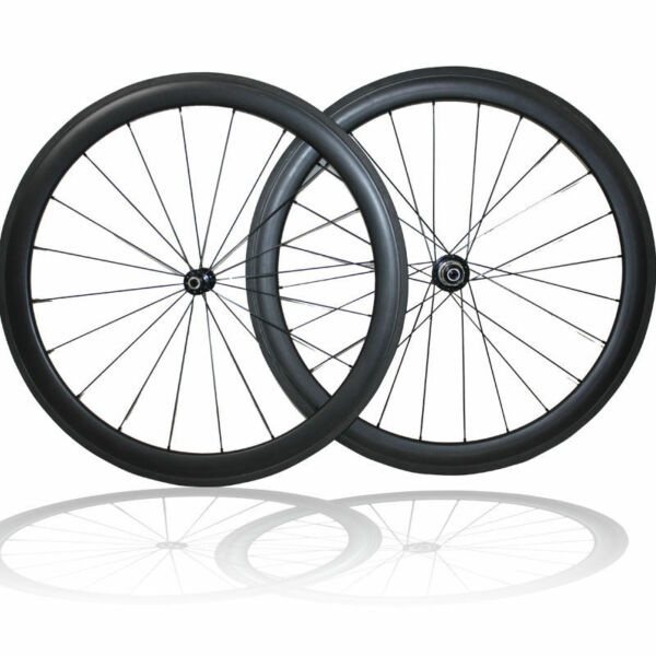 Factory Price 700C 40mm depth Clincher Wheelset Road Bike Bicycle Carbon Wheels