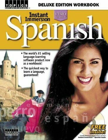 Instant Immersion Spanish Workbook Paperback Mary March $4.87