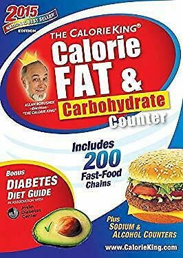 CalorieKing Calorie Fat and Carbohydrate Counter 2015 : Pocket S $4.49