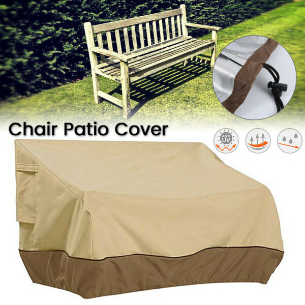 Outdoor Long Chair Cover Dustproof & Waterproof Awning Furniture Dust Cover
