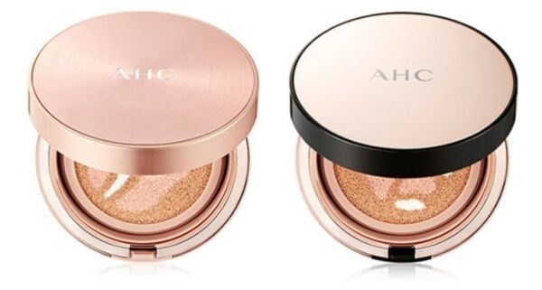 AHC Triple Rose Cover Cushion 14g SPF 50+PA +++ Wrinkle Care Whitening K-Be