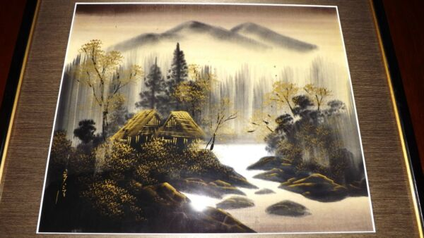 Original Japanese PAINTING  Vintage   TOP QUALITY