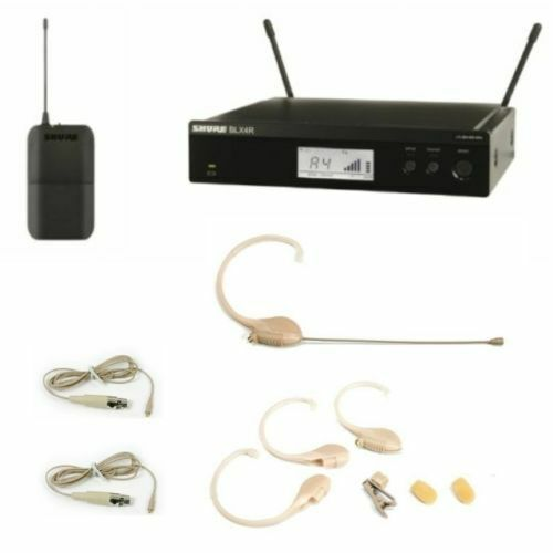 Shure BLX14R Wireless System with OSP HS-10 Pro Tan Earset Microphone