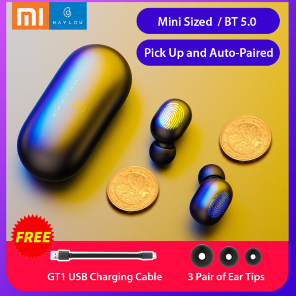 Xiaomi Haylou GT1 Mini TWS Wireless BT 5.0 Earbuds USB Fast Charging Cable K3P2