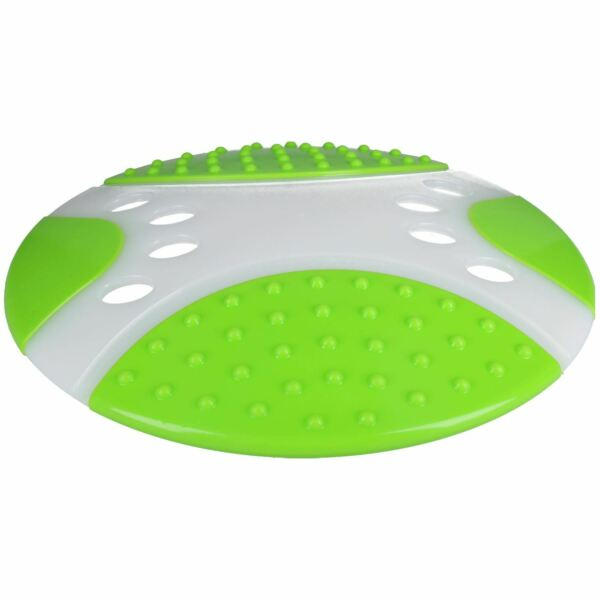 Dental Throw & Go Fetch Flyer Saucer Fling Frisbee Dog Puppy Toy 23