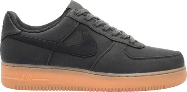 Nike Air Force 1 One Low '07 LV8 Black Gum Shoes AQ0117-002 AF1 Men's Size 9.5
