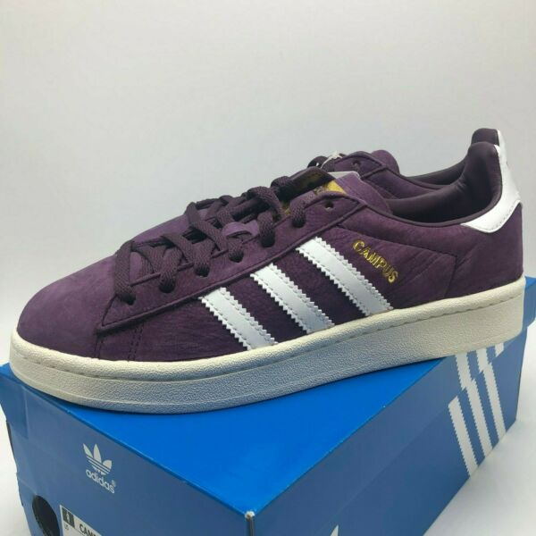 *NEW* WOMENS ADIDAS ORIGINALS CAMPUS W PURPLE (BY9843), Sz 5.5-7.0,100%AUTHENTIC