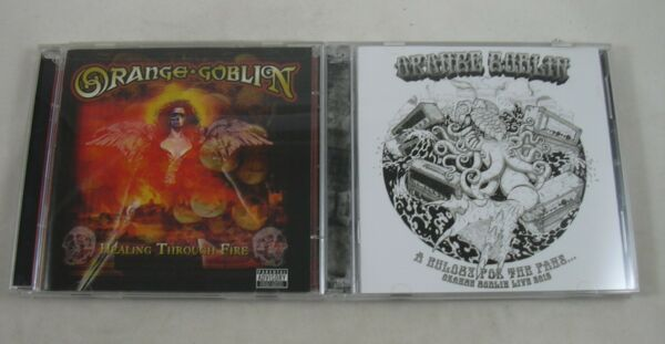 Orange Goblin Healing Through Fire + Eulogy for the Fans LOT Audio CDs + DVD
