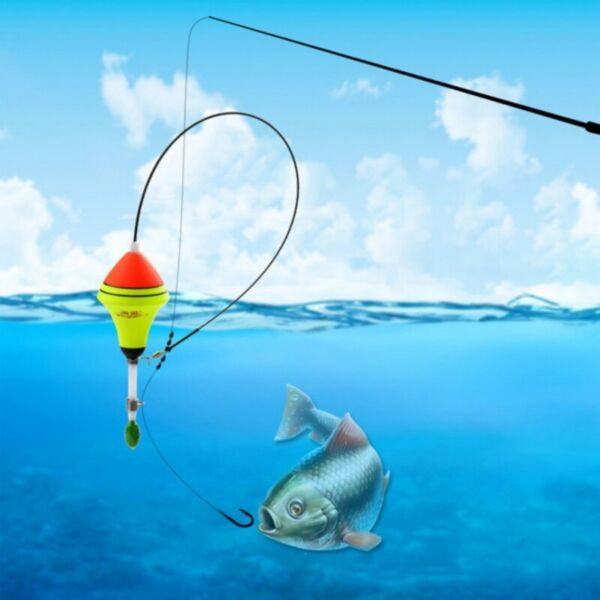 New Outdoor Portable Automatic Fishing Float Fishing Bobber Fishing Tackle Tools