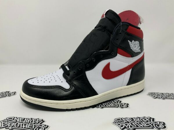 Nike Air Jordan Retro I 1 High OG Gym Red Black White Sail 555088-061