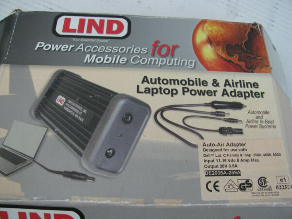 Lind Motion Computing Auto Air Car Adapter Tablet PC 601.530.01