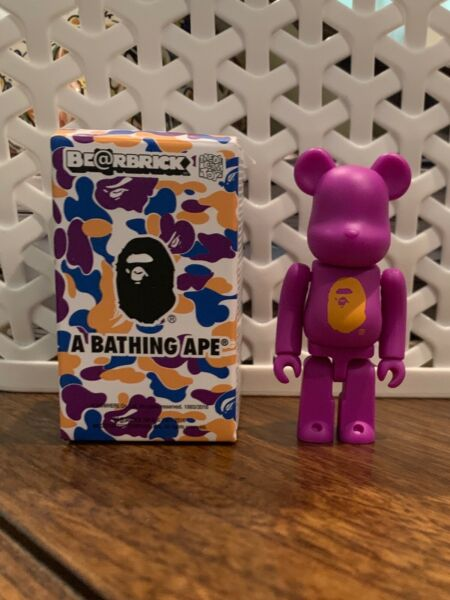 BAPE STORE LOS ANGELES BEBRICK 100% - Purple