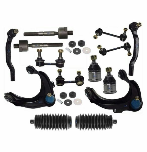16 Pc Suspension Kit for Honda Accord 98-02 Control Arms Tie Rods Bellow Boots $142.84