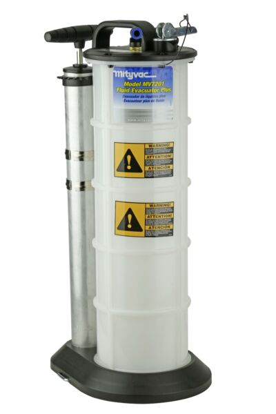 Mityvac MV7201 2.3 Gallon Manual Fluid Evacuator Plus with Overflow Protection