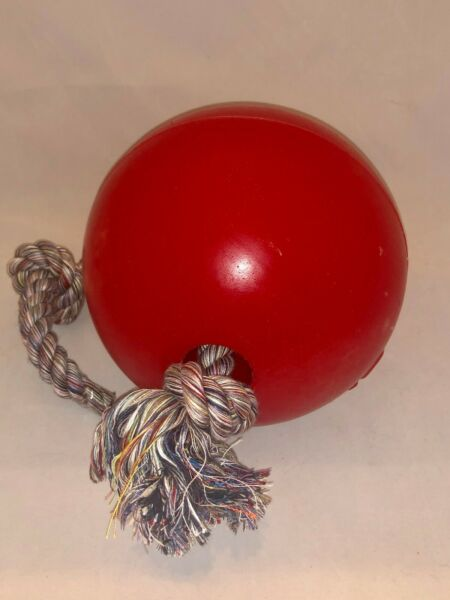 Jolly Pets 8-Inch Romp-n-Roll Red $24.99
