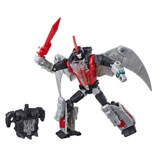 Transformers Dinobot Red Swoop Power of the Primes Deluxe Class Figure