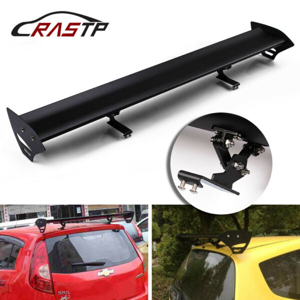 110cm No Perforation Auto Car Hatchback Spoiler GT Style Rear Trunk Wing Spoiler $98.78