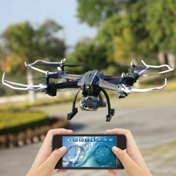 2.4G Drone with HD Camera FPV WiFi Live Video 25 Min FLIGHT TIME RC Quadcopters5