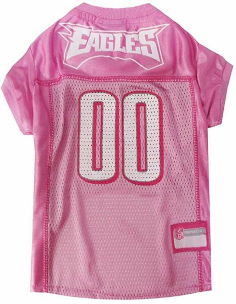 Philadelphia Eagles NFL Football Officially Licensed Pink Pet Poly Dog Jersey