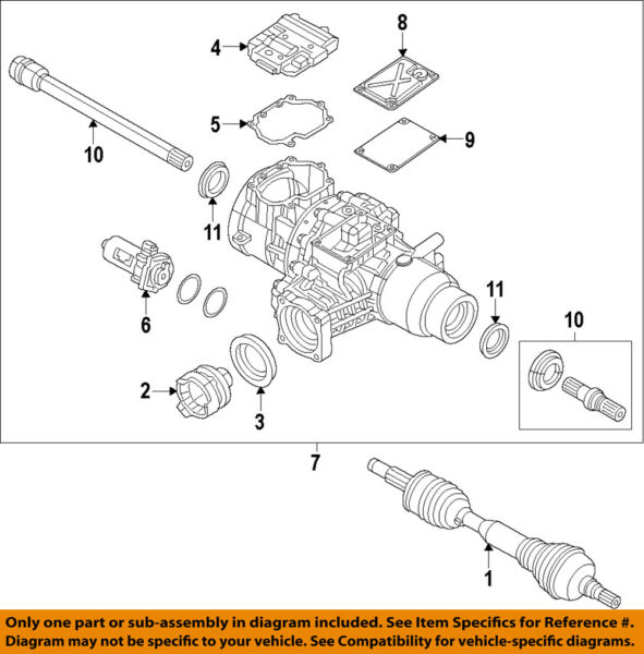 Jeep CHRYSLER OEM 14-18 Cherokee Rear Axle-Output Shaft Seal 68227841AA