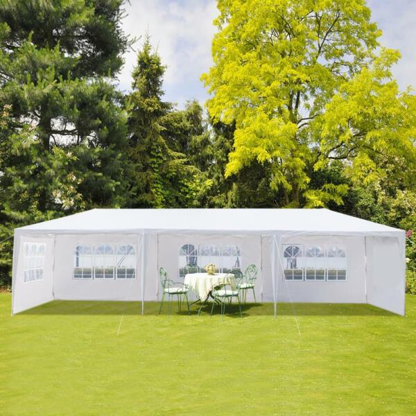 10#x27;x 30#x27;Outdoor Canopy Party Wedding Tent 5 Walls Gazebo Pavilion Cater Events