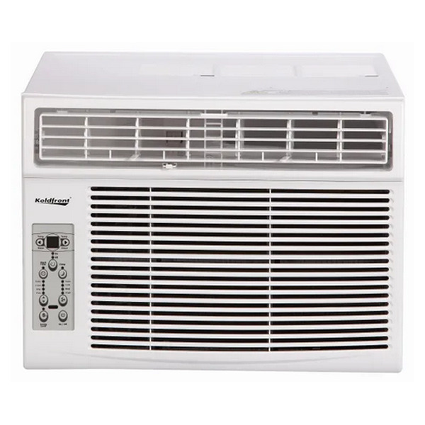 Koldfront - 10000 BTU - Window Air Conditioner with Dehumidifier - 115V