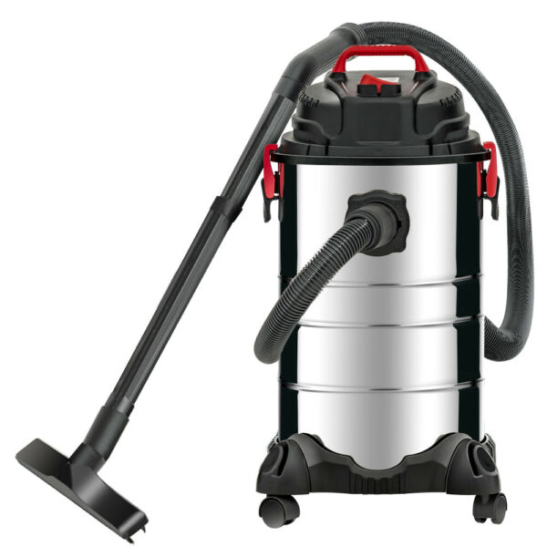 8 Gallon 4-in-1 Portable Wet Dry Vacuum Cleaner Vac Shop 3.5 HP Stainless Steel