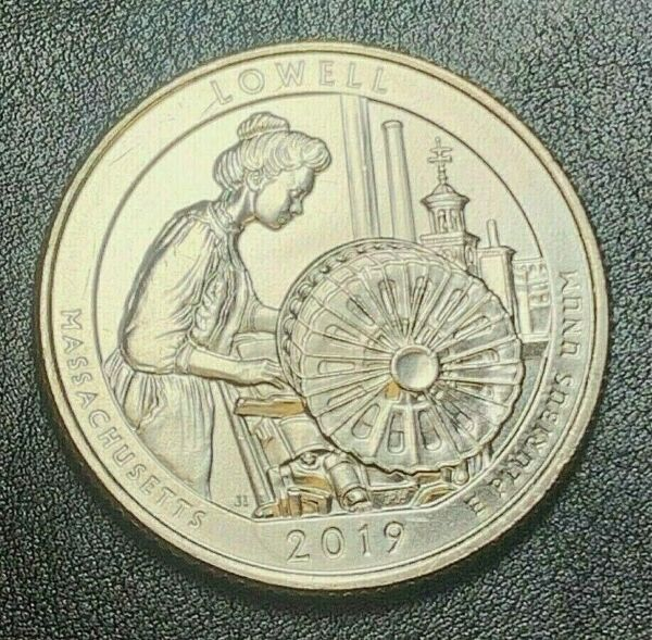 2019 W LOWELL Nat'l Park Quarter WEST POINT FRESH BU Never been to grading