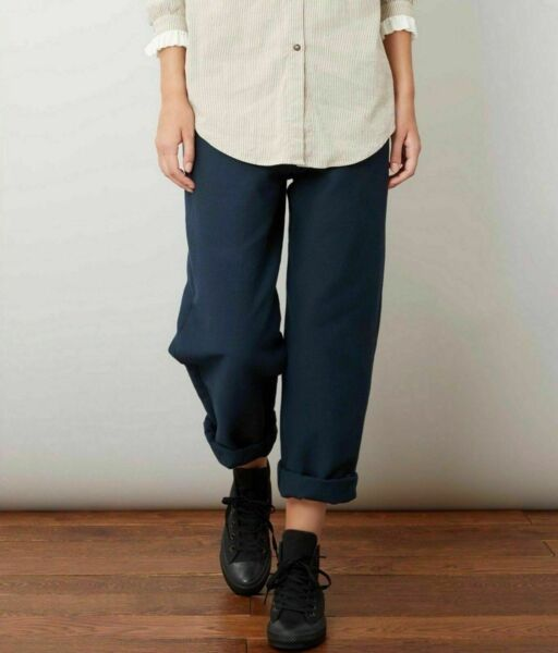 Cabbages & Roses Navy Trousers In Navy *¨¨*New - Size: 16
