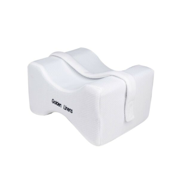 Knee Pillow Orthopedic for Sciatica Relief Back Leg Pain with Adjustable Strap $17.99
