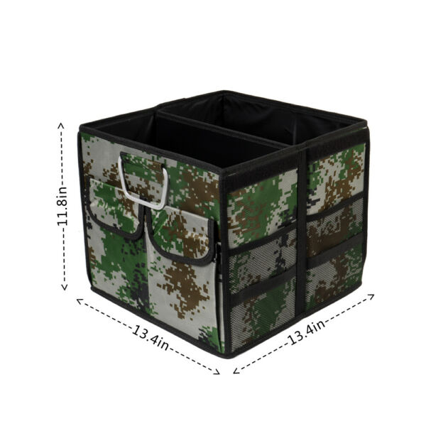 Small Car storage box uncover Collapsible Trunk Bag Tool Multipurpose $29.00