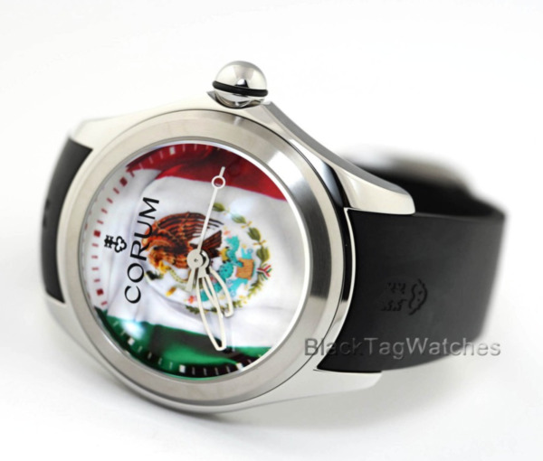 Corum Bubble 47 Mexico Flag 082.310.200371 MX01 Limited Edition Mens Watch