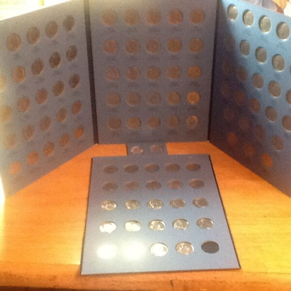 COMPLETE  Set  Roosevelt Dimes 1965 - 2019 in Coin Folders