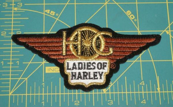 #x27;HOG LADIES OF HARLEY HARLEY DAVIDSON HD CLASSIC WINGED STYLE PATCH $10.25