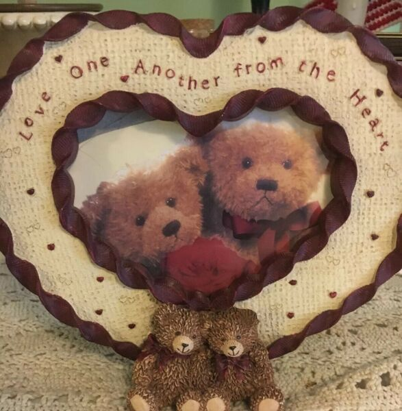 1999 Zondervan Picture Frame Love One Another From the Heart 3