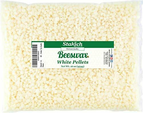 Natural Pure White Beeswax Pellet for Any Cosmetic or Hobby Use 1lbs $21.99