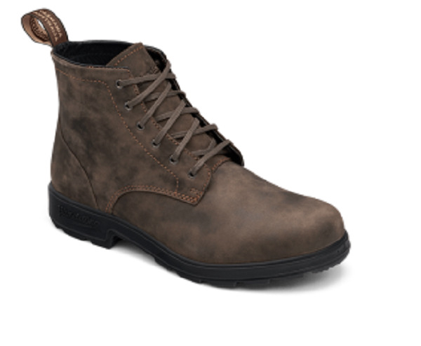 Blundstone Men's 1930 Premium Waterproof Lace Up Leather Boots - Rustic Brown