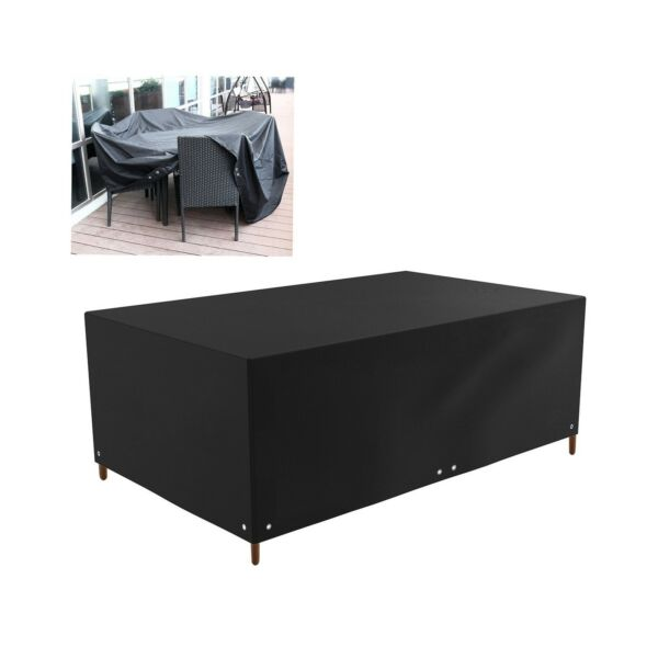 WINOMO 213x132x74cm Patio Covers Furniture Outdoor Waterproof Sofa Table Chai... $29.99
