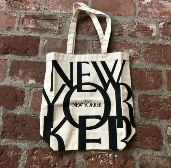 The New Yorker Tote Brand New Sealed In Original Packaging. Global Shipping.