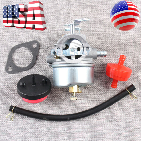 For Tecumseh 632110 632111 632334 632370 632536 640105 632334A 632370A Carb US