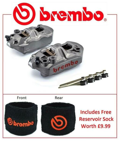 Brembo M4 Front Brake Calipers To Fit Kawasaki ZX10R 2008 - 2014