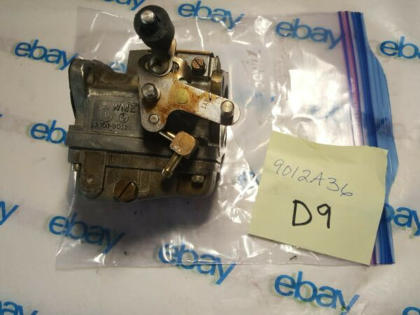 3301 9012A36 Top Carburetor Mercury 90hp 3 Cylinder Serial #OG123017 $55.00