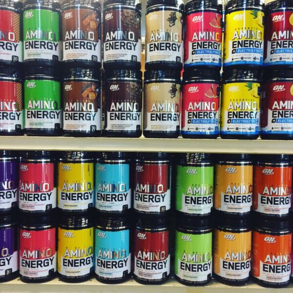 Optimum Nutrition Amino Energy Pre-Workout 30 Servings NEW FRESH  *ALL Flavors