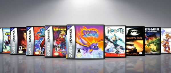 Custom Covers and Cases for Gameboy Advanced GBA: Titles Q S. NO GAMES $9.50
